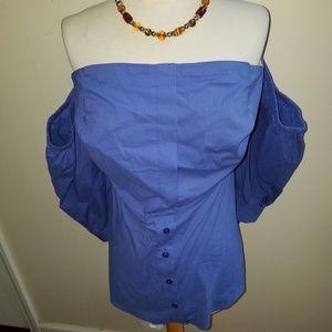 Reg $55 Eloquii off shoulder blouse NWT